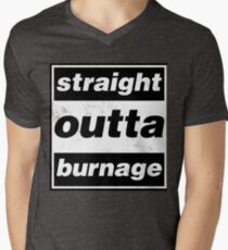 Straight Outta Burnage, Our Kid Men's V-Neck T-Shirt