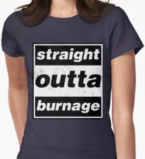 Straight Outta Burnage, Our Kid Women's Fitted T-Shirt