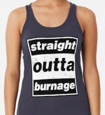 Straight Outta Burnage, Our Kid Racerback Tank Top