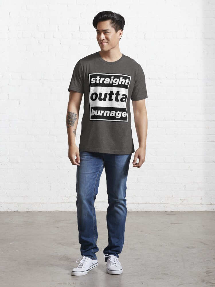 Alternate view of Straight Outta Burnage, Our Kid Essential T-Shirt