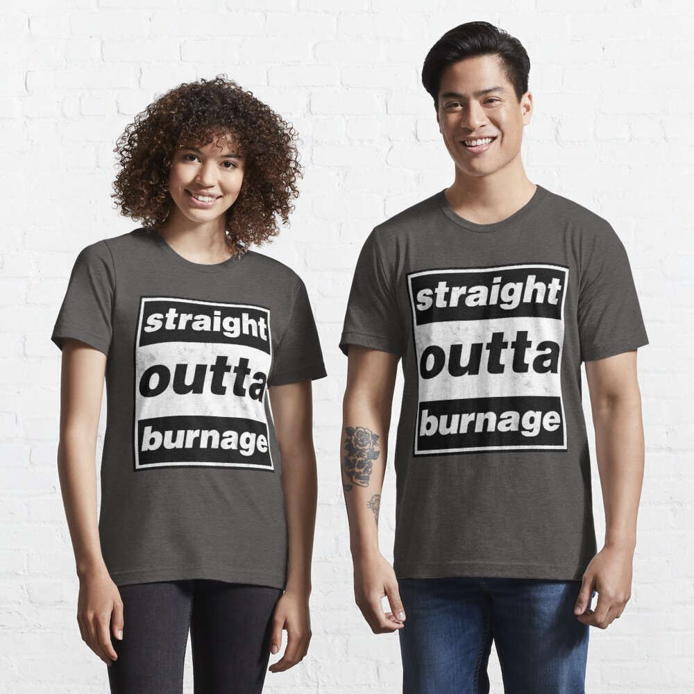 Straight Outta Burnage, Our Kid Essential T-Shirt