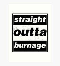 Straight Outta Burnage, Our Kid Art Print