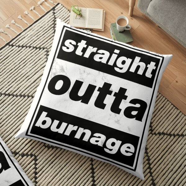 Straight Outta Burnage, Our Kid Floor Pillow