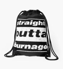 Straight Outta Burnage, Our Kid Drawstring Bag