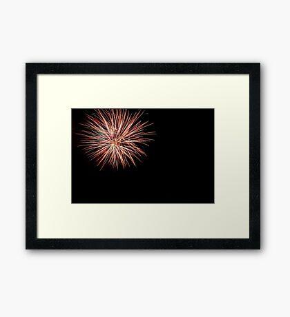 the big boom Framed Print
