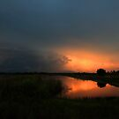 stormy  morning by kathy s gillentine