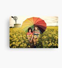you promised me sunshine Canvas Print