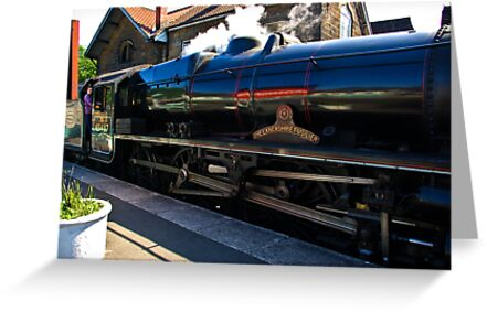 Steam at Grosmont by Trevor Kersley
