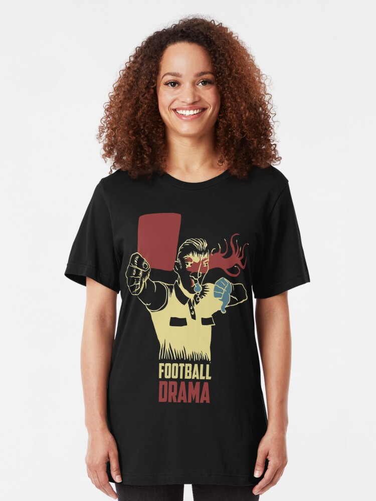 Alternate view of Football Drama Official Merchandising Slim Fit T-Shirt