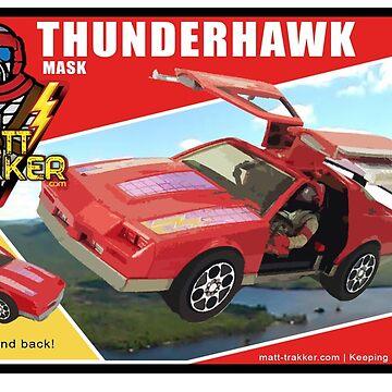 Matt-Trakker.com Thunderhawk Box MASK M.A.S.K. by mtrakker