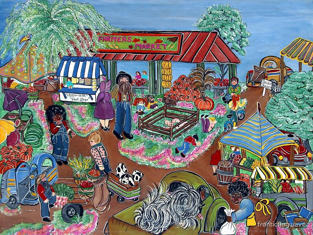 """Farmers Market"" by franticflagwave"