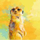 Dear Little Meerkat by floartstudio