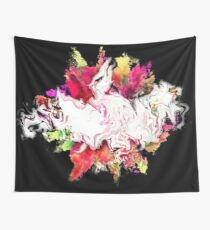 Dragon Clouds Colorful Wall Tapestry