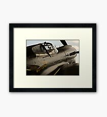 In The Crosshairs Framed Print