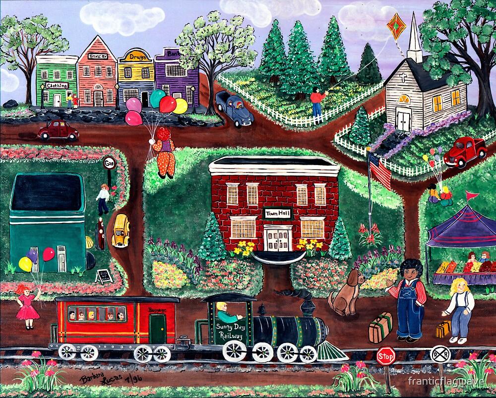 """""""Sunny Day Railway"""" by franticflagwave"""