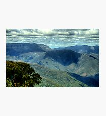 Where Mountain Ash and Kurrajong Grew Wide - High Country - The HDR Experience Photographic Print