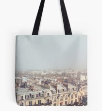 Paris Morning Rooftops Tote Bag