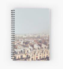 Paris Morning Rooftops Spiral Notebook