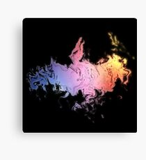 Dragon Colorful Canvas Print
