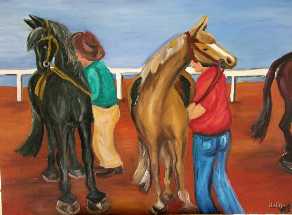 landor - the mounting yard  by dallys