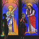 Stained Glass Windows V-VI by Hannah Rose Williams