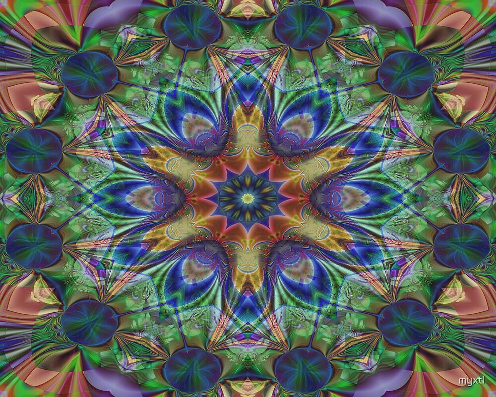 Kaleidoscope:  World Traveler by myxtl