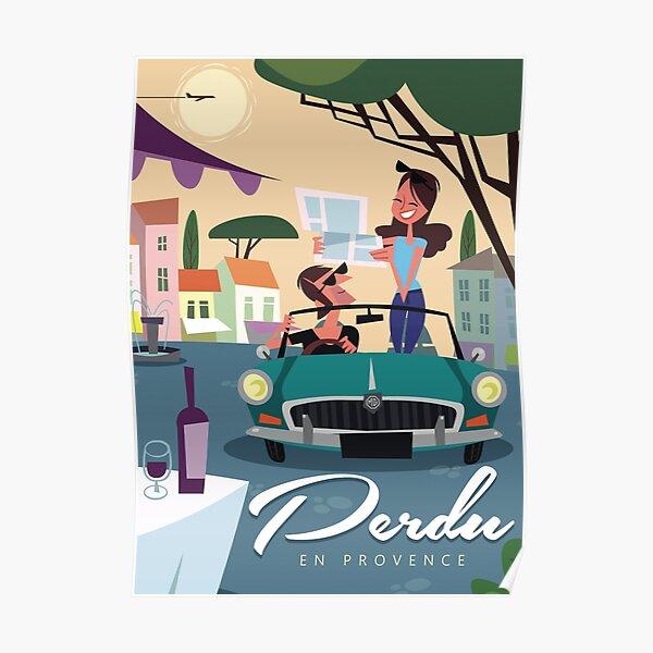 Affiche Perdu en Provence Poster