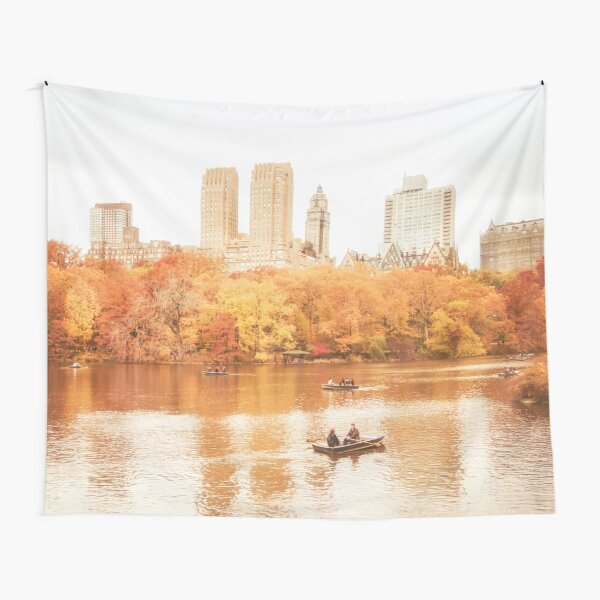 Autumn - Central Park - New York City Tapestry