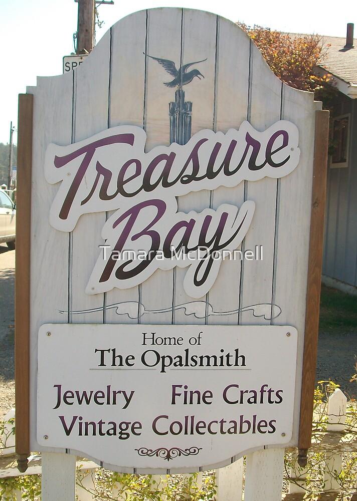 Treasure Bay Florence, Oregon by Tamara Lindsey