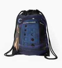 Sailor Time Lord Drawstring Bag