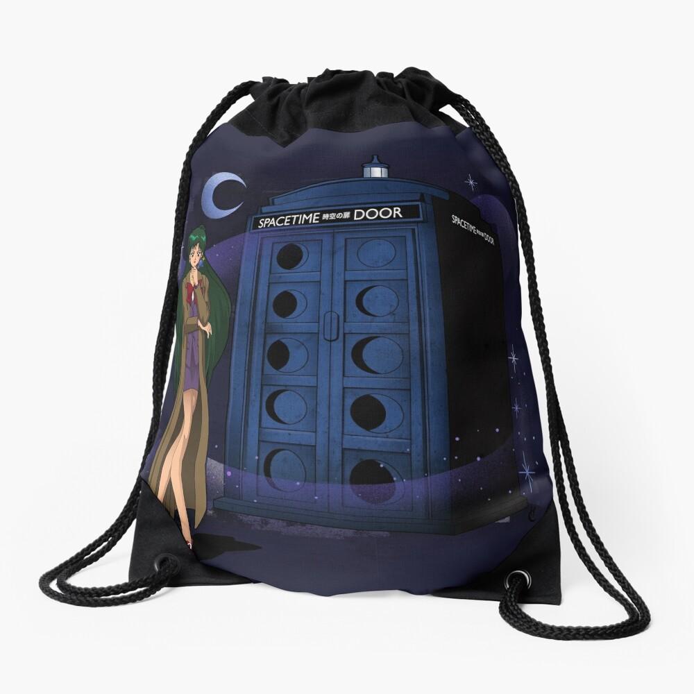 Sailor Time Lord Drawstring Bag