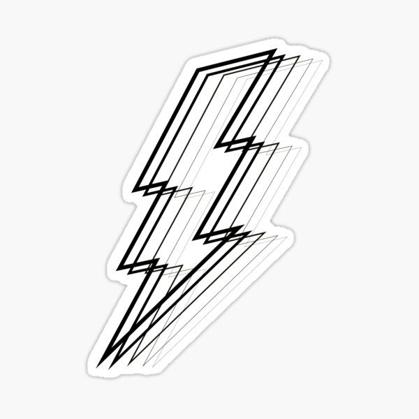 Lightning Bolt Sticker