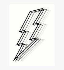 Lámina artística Lightning Bolt