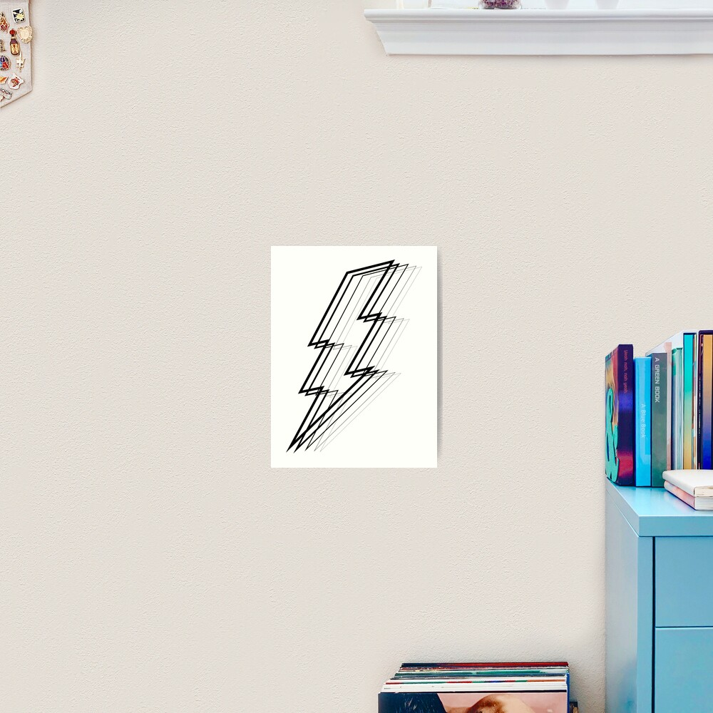Lightning Bolt Art Print