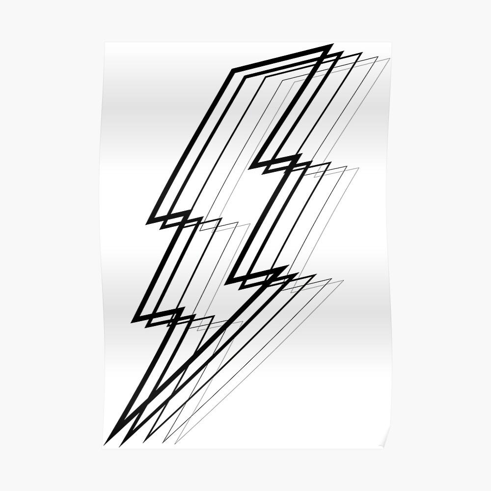 Lightning Bolt Poster