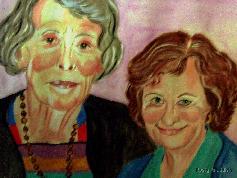 Mother and Daughter by Rusty  Gladdish