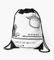 Wild NEIGHBOR appeared! Drawstring Bag