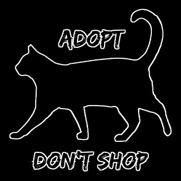 Adopt, Don't Shop Cat by LadyEirelyn