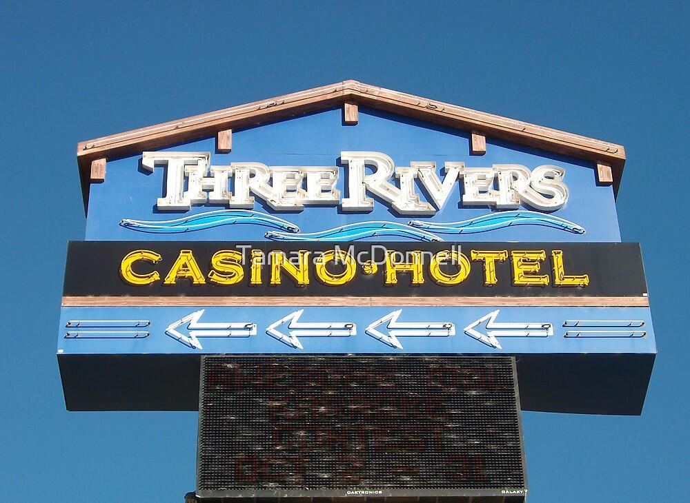 Three Rivers Casino, Oregon Coast by Tamara Lindsey