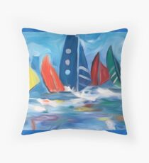 Sea By Me Throw Pillow