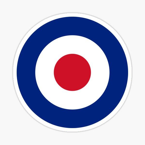 Classic RAF British Roundel (Mod Target) Sticker
