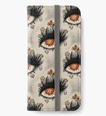 Weird Eye Of Fractured Lava | Digital Art iPhone Wallet/Case/Skin
