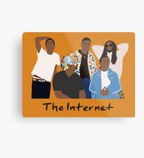 The Internet Colors Metal Print