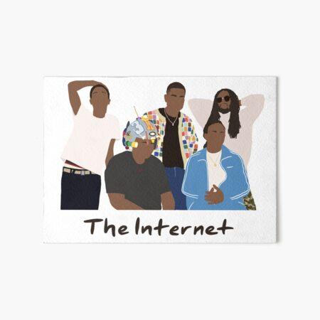 The Internet Colors Art Board Print