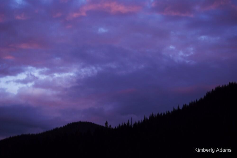 Trillium Lake Dawn by Kimberly Adams