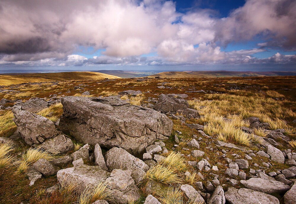 Across to Little Whernside by Andrew Leighton