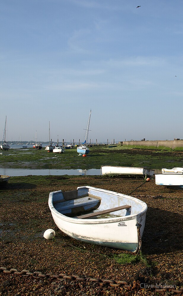 Emsworth Boat by Clive Midson