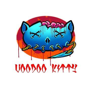 Voodoo KItty by biomek
