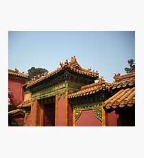 Forbidden City Photographic Print