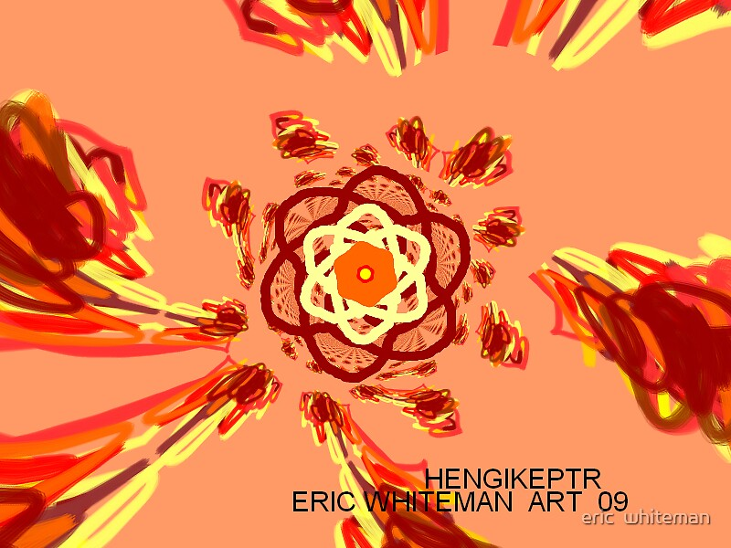 ( HENGIKETR )M ERIC WHITEMAN  ART  by eric  whiteman